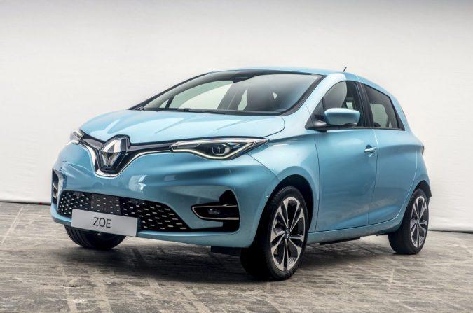 Renault представляет Zoe EV