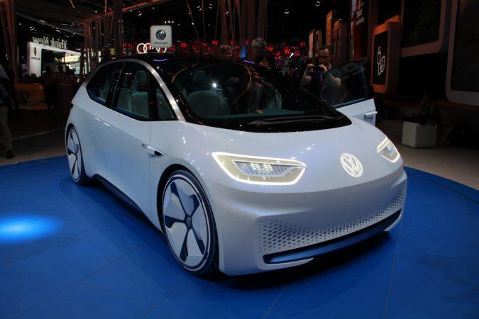 Электромобиль Volkswagen за 18000 фунтов