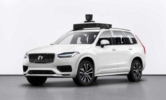 Volvo и Uber представили автономный серийный XC90